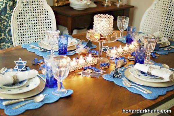 انواع چیدمان جذاب میز ناهار خوری