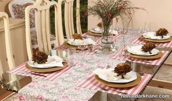 انواع چیدمان جالب و خاص میز ناهار خوری