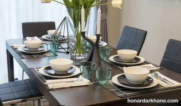 مدل های خاص دیزاین میز ناهار خوری