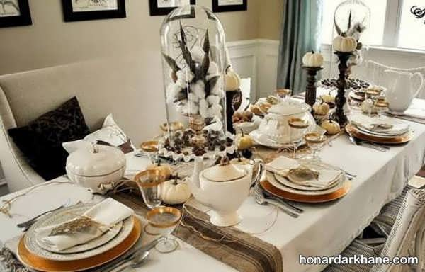 ایده های جدید و خاص چیدمان میز ناهار خوری
