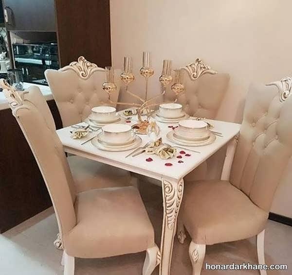 انواع دیزاین خاص و شیک میز ناهار خوری