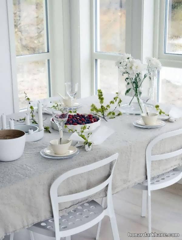 انواع دیزاین خلاقانه میز ناهار خوری