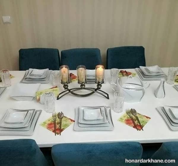 انواع دکوراسیون جالب میز ناهار خوری