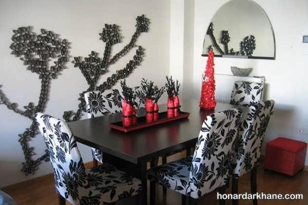 انواع دیزاین جالب و جدید میز ناهار خوری