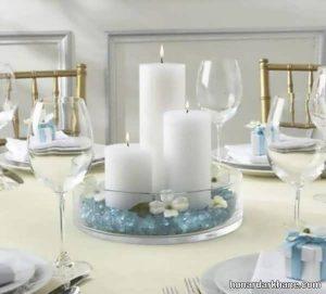 انواع تزیین جالب میز ناهار خوری