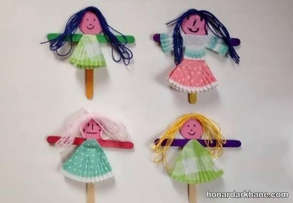 انواع هنردستی خلاقانه و جالب دخترانه