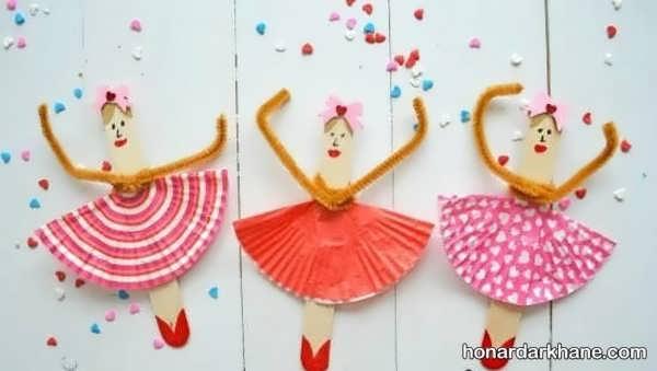 انواع هنردستی جذاب دخترانه با کاغذ