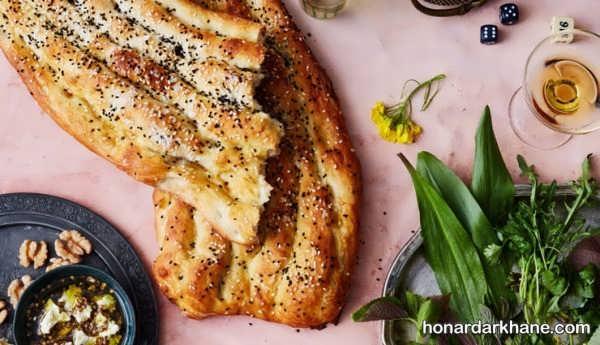 طرز تهیه نان خانگی تازه و نرم