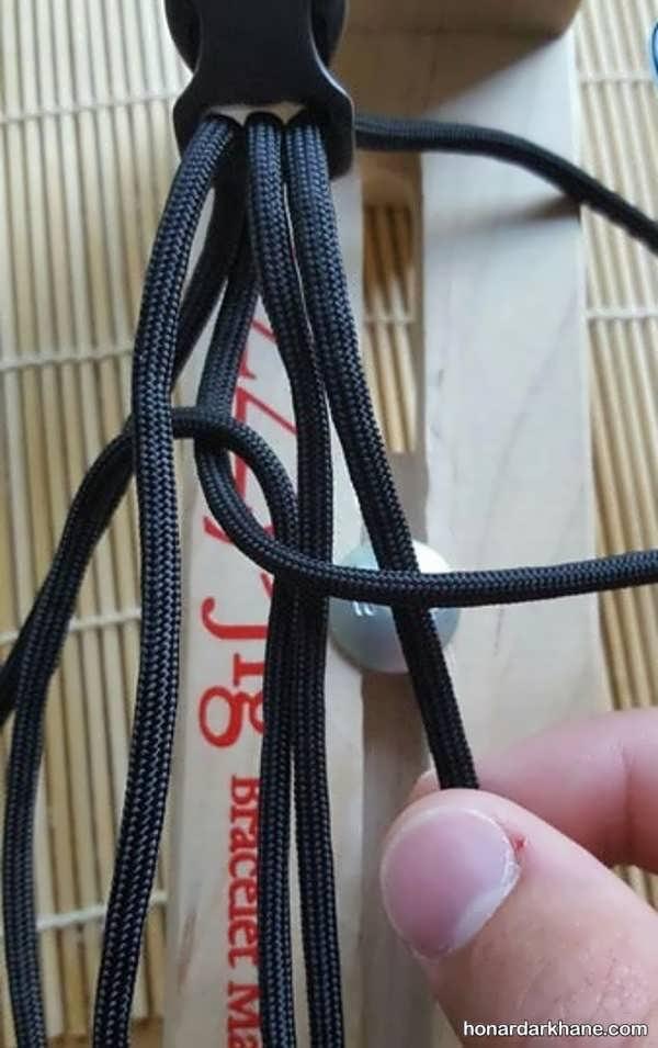 روش درست کردن دستبند زیبا و اسپرت با بند کفش