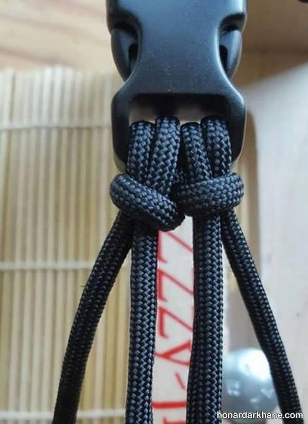 نحوه درست کردن دستبند اسپرت با بند کفش