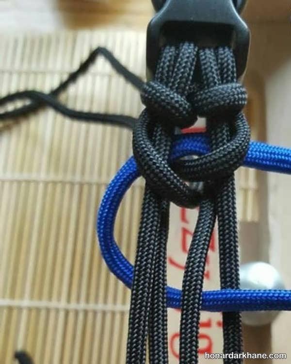 نحوه درست کردن دستبند با بند کفش
