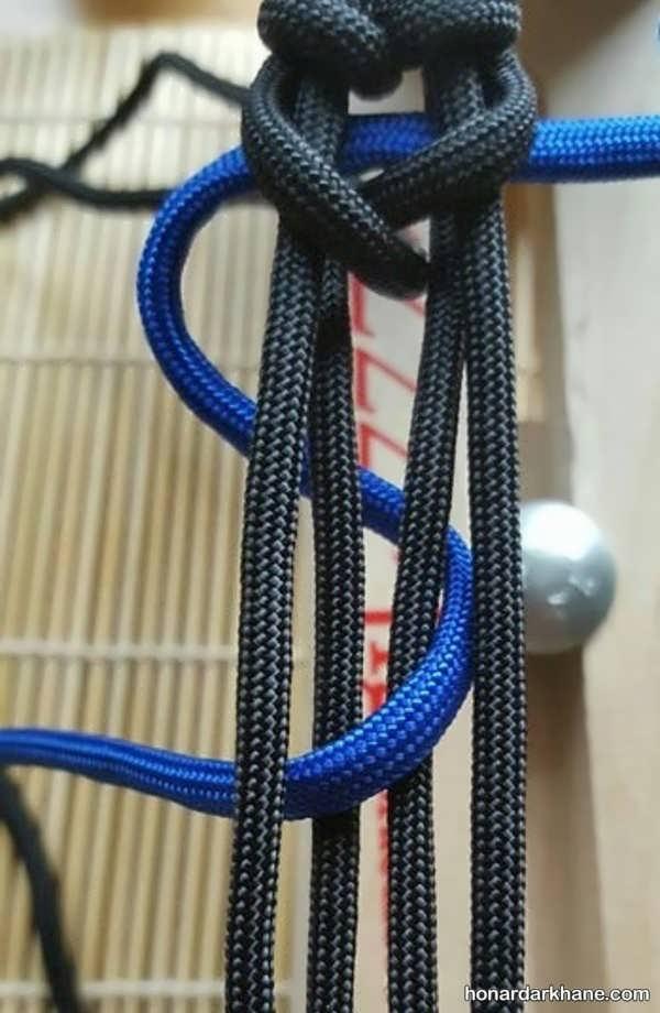 آموزش ساختن دستبند با بند کفش