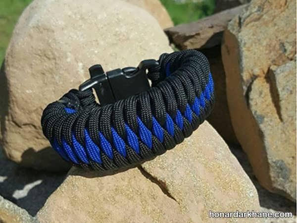 نحوه ساخت دستبند با بند کفش