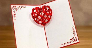 نحوه ساخت کارت پستال سه بعدی زیبا و جذاب