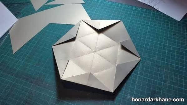 طرز ساخت کارت تبریک سه بعدی زیبا