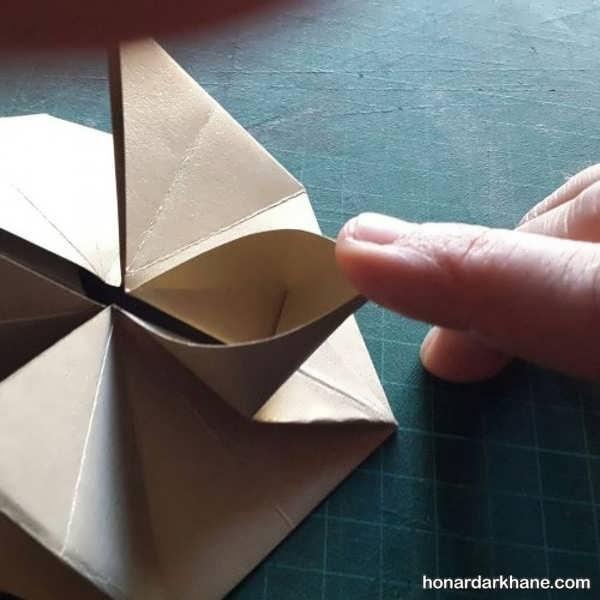 روش درست کردن کارت پستال سه بعدی