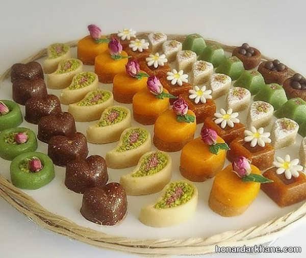 انواع تزیین جالب و زیبا حلوا