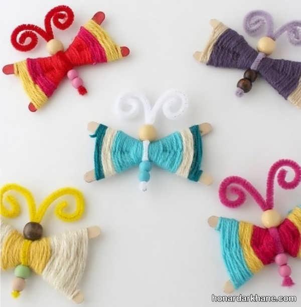 انواع هنردستی زیبا و خلاقانه با کاموا