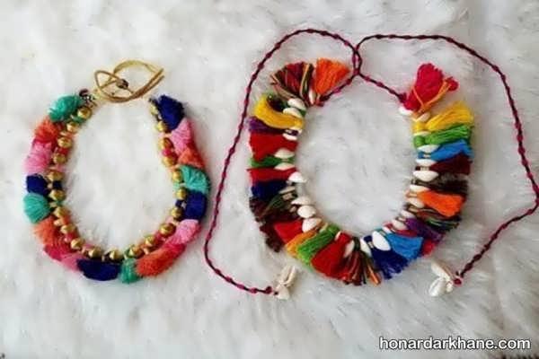 انواع هنرآفرینی زیبا و جذاب با کاموا