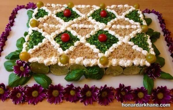 انواع دیزاین زیبا کیک مرغ به سبک های جدید