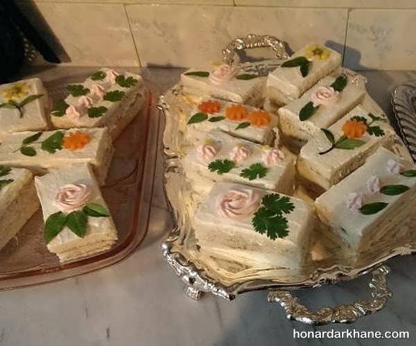 انواع زیبا سازی کیک مرغ با ایده های خاص