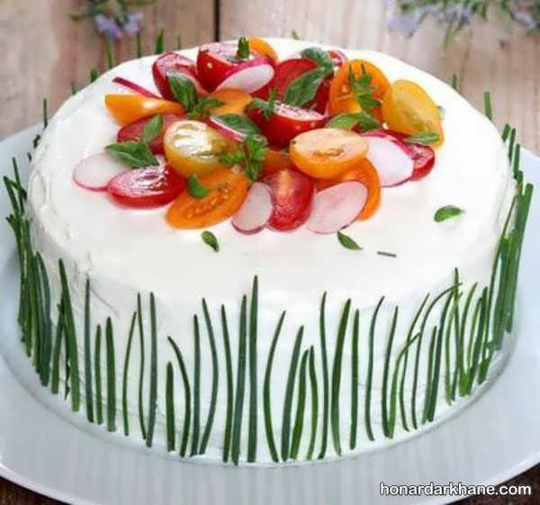 انواع زیبا سازی کیک مرغ به سبک های خلاقانه