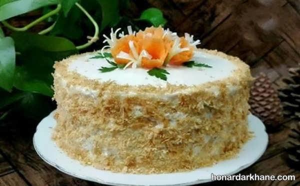 انواع دیزاین خلاقانه کیک مرغ