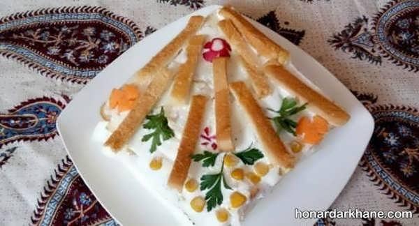 انواع زیبا سازی کیک مرغ به شکل های مختلف