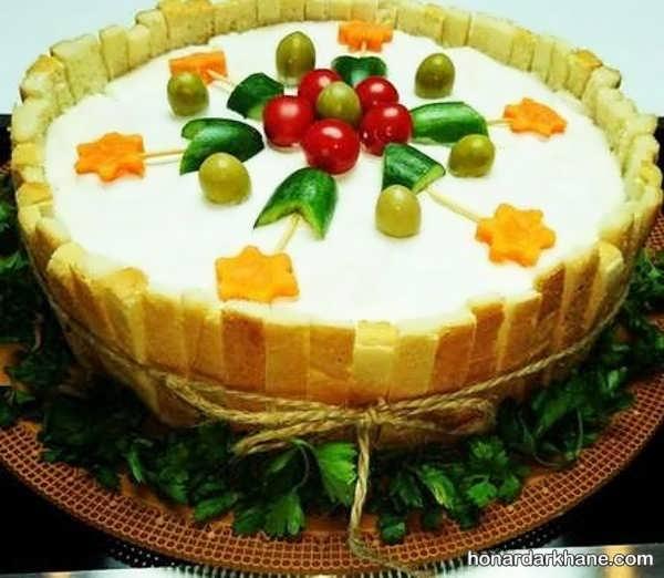 انواع دیزاین جذاب کیک مرغ