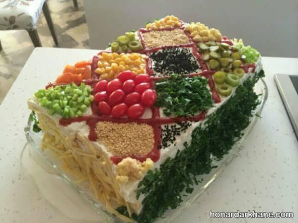 مدل های خاص دیزاین کیک مرغ