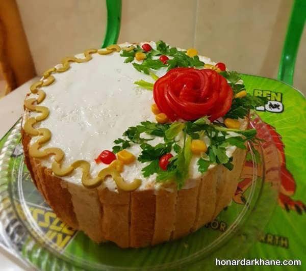 انواع تزیین کیک مرغ با ایده های زیبا
