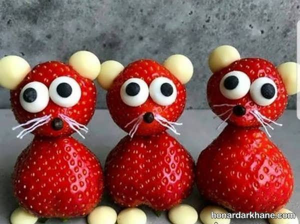 انواع ایده های بسیار جالب دیزاین توت فرنگی
