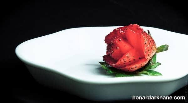 انواع آراستن توت فرنگی با ایده های جذاب