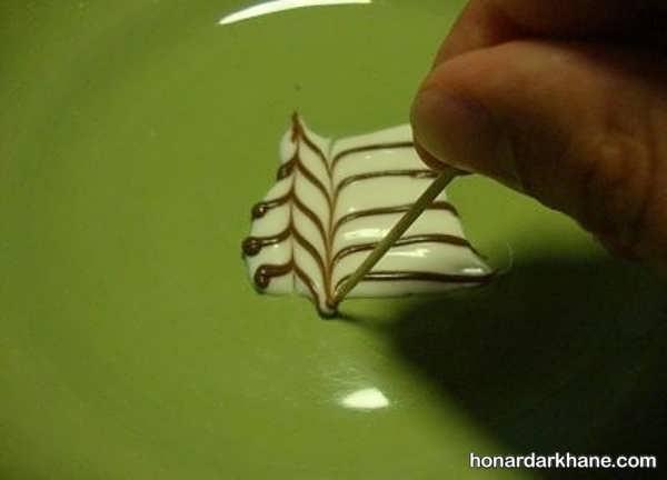 ایده های جالب دیزاین بشقاب با سس