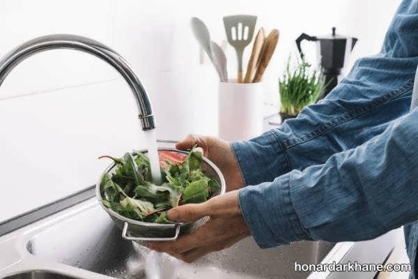انواع روش های صحیح و خانگی ضدعفونی سبزیجات