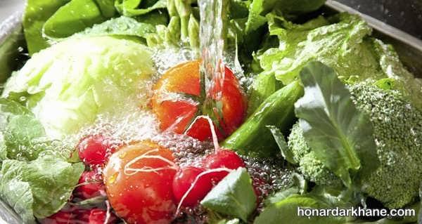 نحوه عفونت زدایی سبزیجات به روش های مختلف