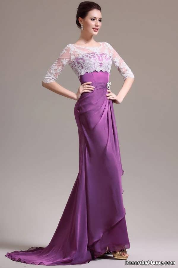 انواع شیک مدل لباس مجلسی بلند