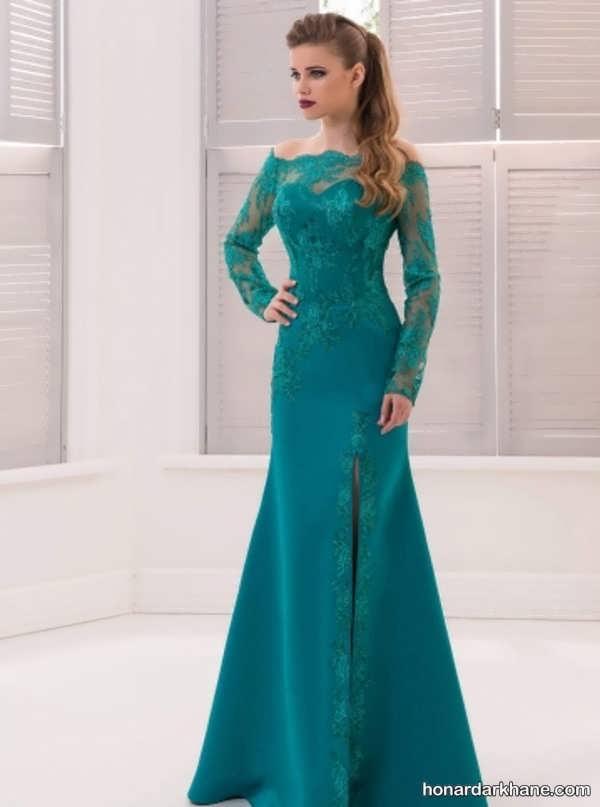 مدل های زیبا و جدید لباس مجلسی بلند