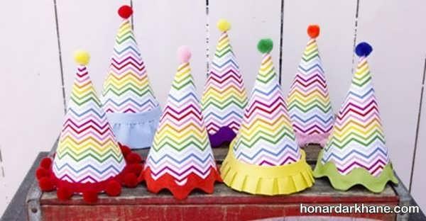 آموزش ساختن کلاه تولد به روشی ساده در منزل