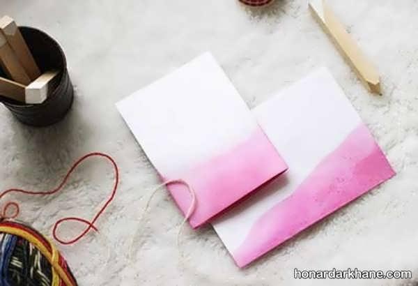 روش ساخت کارت پستال تولد