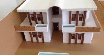 ایده های جالب ساخت ماکت خانه با وسایل مختلف