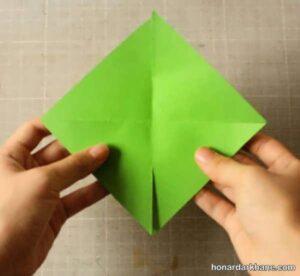 آموزش ساختن فرفره 8 پر با کاغذ