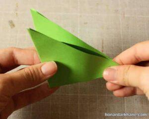 نحوه درست کردن فرفره کاغذی و مقوایی