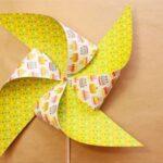 نحوه ساخت فرفره کاغذی زیبا و ساده