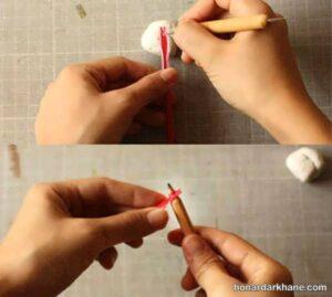 شیوه درست کردن فرفره کاغذی و مقوایی