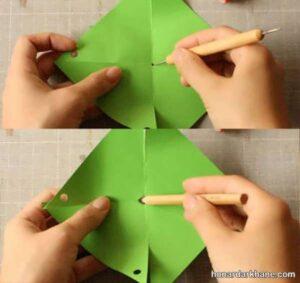 نحوه ساخت فرفره کاغذی