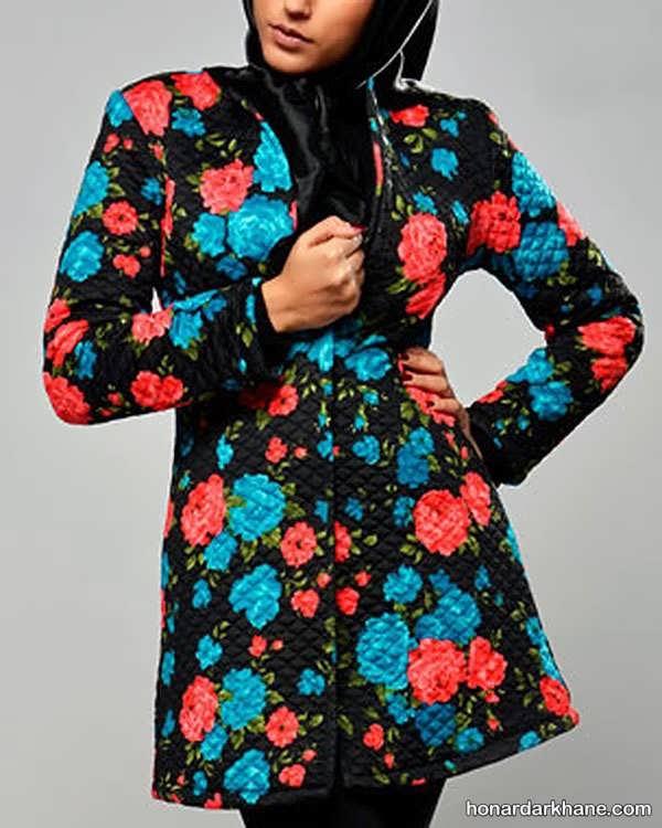 مانتو نخی گلدار تابستانه با 44 مدل جدید و شیک