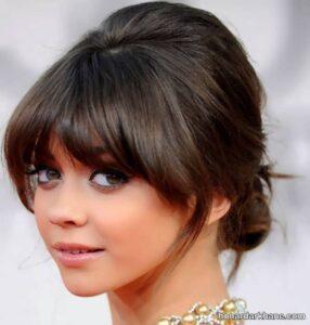 انواع موی چتری کوتاه و زیبا دخترانه