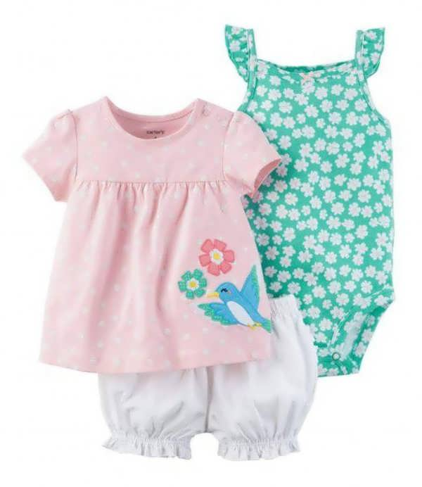 انواع لباس نوزادی پسرانه و دخترانه