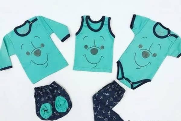 انواع لباس نوزادی با طرح های جدید